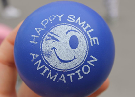 happy smile animation